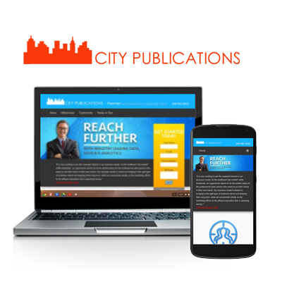 City Publications - Website Design Portfolio