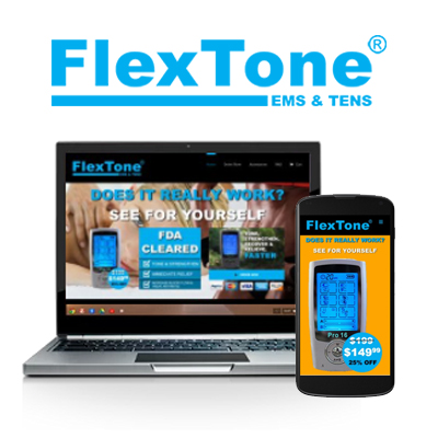 Flextone - Website Design Portfolio