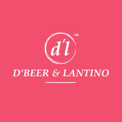 Logo Design Porfolio - D'beer & Lantino Pink