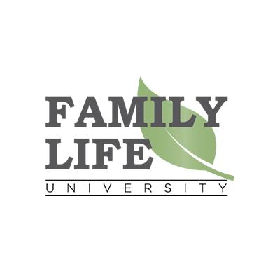 Logo Design Portfolio - Family Life University - White