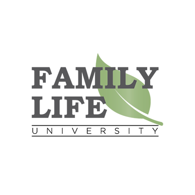 Logo Design Portfolio - Family Life University - White