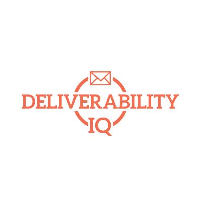 Logo Design Portfolio - Deliverability IQ white