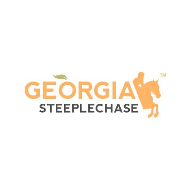 Logo Design Portfolio - Georgia Steeplechase white