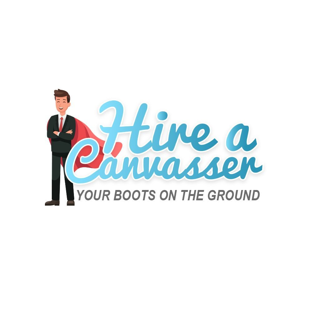 Hire A Canvasser Best Logo