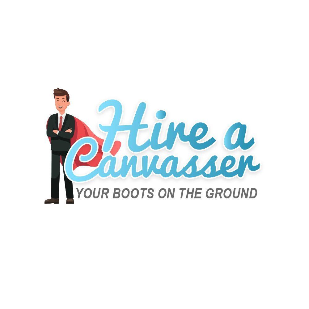 Hire A Canvasser Best Logo