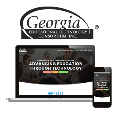 Georgia Educational Technology Consortium - Website Design Portfolio
