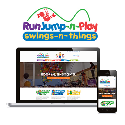 Runjump n Play - Website Design Portfolio