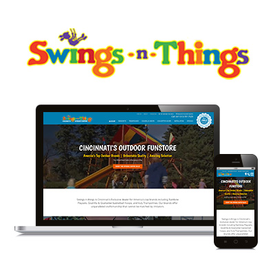 Swings n Things - Website Design Portfolio