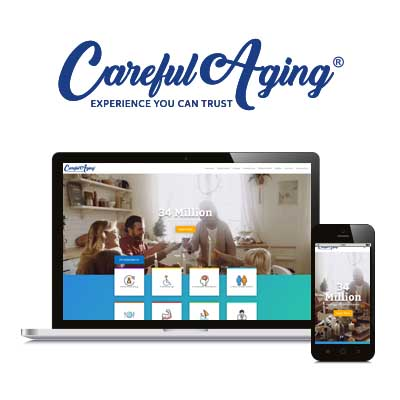 Careful Aging - Website Design, Branding, & Development